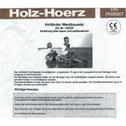 Holländer von Holz Hoerz nagelneu