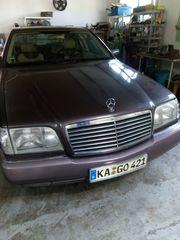 Youngtimer Mercedes W140 LPG Gasanlage