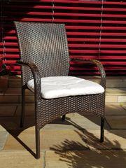 Rattan Gartenstühle neuwertig