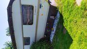 Dauercamper Wohnwagen in Cuxhaven mit