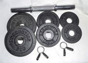 Energetics Kurzhantel-Set Eisenguss - 9-teilig - Gewicht