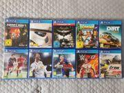 10x PS4 Spiele