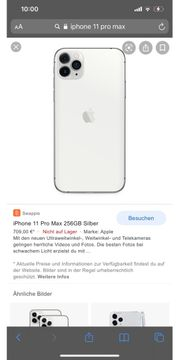 I Phone 11Pro Max 64