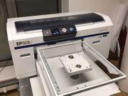 Textildrucker Epson F2000 Transferpresse