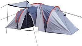 Campingartikel - NEU-FAMILIENZELT-STEILWANDZELT-ZELTE-4-8PERSONNEN-AB 79 -290 -PRO ZELT