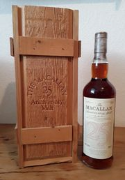 The Macallan 25j in Holzkiste