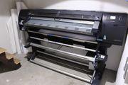 HP Latex Druckmaschine