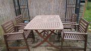 Gartenmöbel - Set 5teilig
