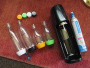 SodaStream schwarz Easy Trink-Wassersprudler mit
