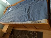 Bett massiv Kiefer