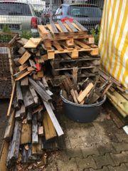 Brennholz Palettenholz Feuerholz KOSTENLOS in