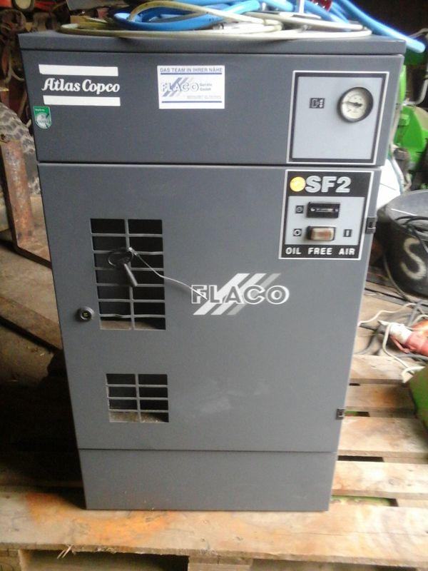 Kompressor Atlas Copco FS2 Ölfrei