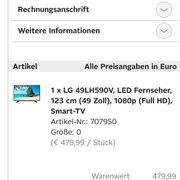 Verkaufe LG Tv