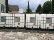 Verkaufe neuwertige IBC Wassertank Container