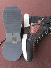 Gr 40 Sneaker mit Plateausohle