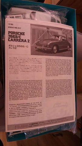 RC-Modelle, Modellbau - Fujimi 1 24 Porsche 356B