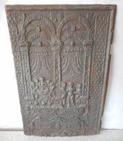 Antike Kaminplatte - Gusseisen -