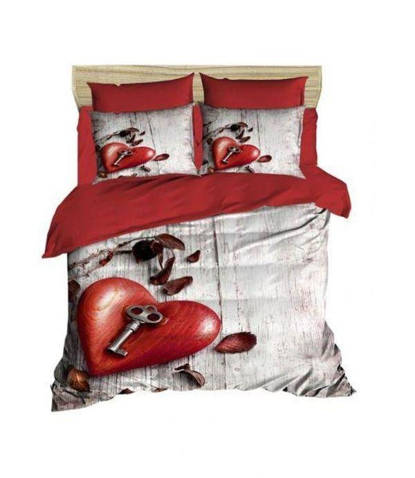 Bettwäsche Bettbezüge 3d Love 200x200 Baumwolle Schmetterling