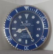 Rolex Submariner Smurf Händler Display