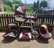 Kinderwagen Kombi babywanne Schale buggy