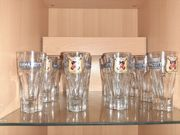 Verkaufe 12 Ramazzotti Gläser nie