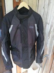 Motorrad Textiljacke schwarz