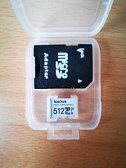 SanDisk High Endurance 512GB MicroSD