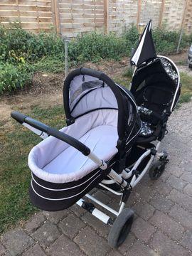 ABC ZOOM Geschwisterwagen: Kleinanzeigen aus Einhausen - Rubrik Kinderwagen