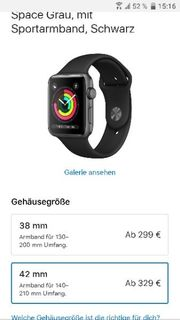 Apple watch 3 gps 42mm