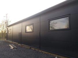 Büros, Gewerbeflächen - Stahlhalle Gewerbehalle Lagerhalle mit Beurobereich