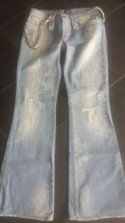 D G jeans mit gürtel