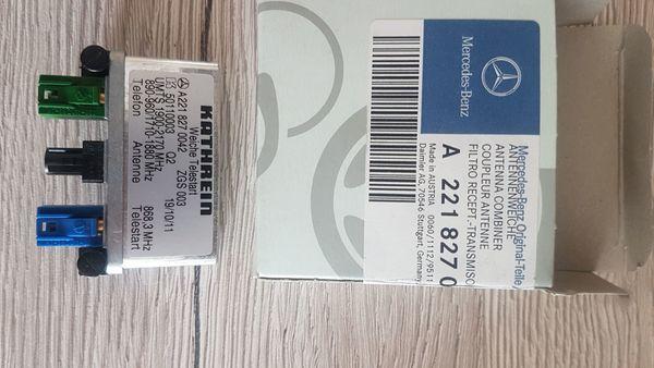 NEUEN ORIGINALEN Antennenweiche Mercedes-Benz A2218270042