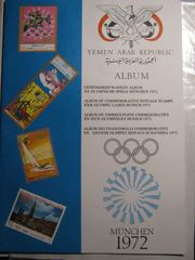 BRIEFMARKEN-SAMMLUNG von den Olymp Spielen