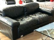 Knoll International Leder Sofa