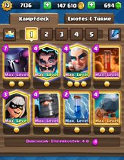 TOP Clash Royale Account 63