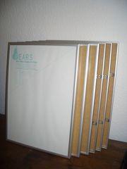 6 x Qualitäts- ALU-Wechselrahmen für DIN-A3-Formate
