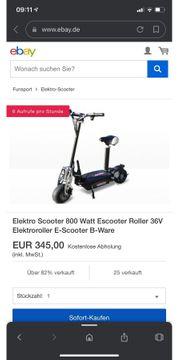 Verkaufe E Scooter