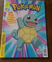 Pokemon Stickeralbum 10 Seiten