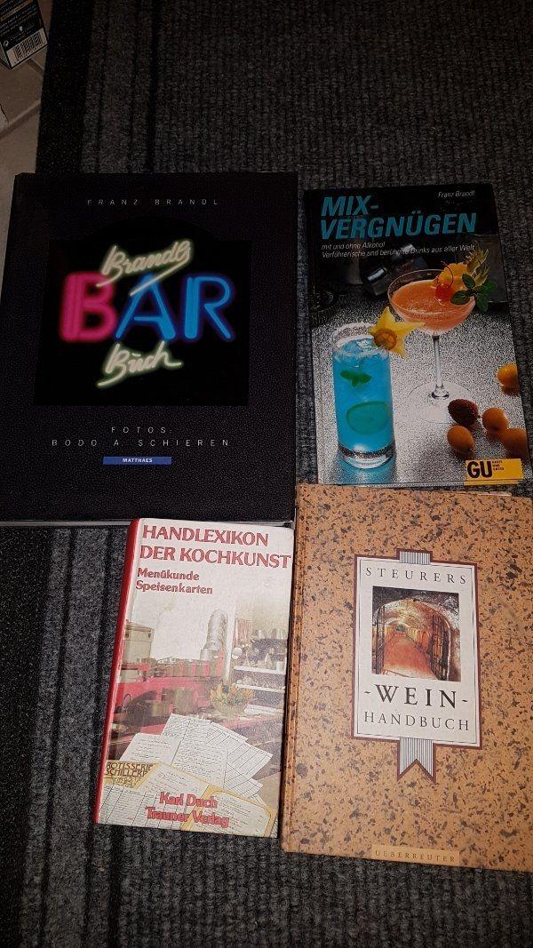 diverse Gastronomie Bücher