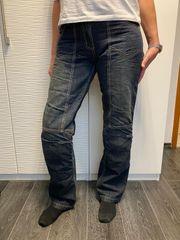 Motorradhose Damen Jeans mit Protektoren