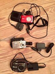 Digitalkameras-3 verschiedene