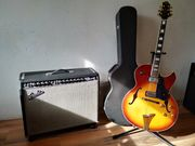 Fender Twin plus JazzGitarre
