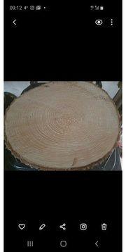 Baumscheiben trocken gelagert mit 46