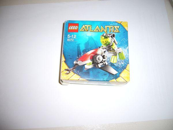 Lego 8072 Atlantis Unterwasserflitzer komplett