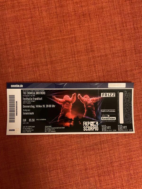 2 x Konzert Tickets Chemical