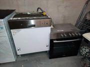 Kühlschrank Beko und Einbauherd Altus