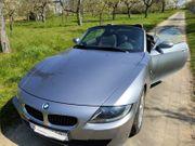 Cabrio BMW Z4 silber metallic
