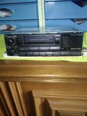 Autoradio Philips mit Cassetten Receiver