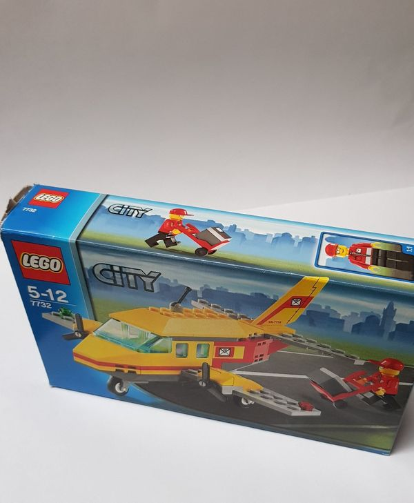 Lego City 7732 - Postflugzeug