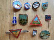 Pins Anstecknadeln Diverse Alpen 70er